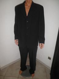 Dressed Homme Costard T Men Noir Jacket Bozzato Xl Giani Costume deQrCBoxW